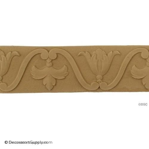 Dentil - Ren. 2 1/8H - 3/16Relief-moulding-for-furniture-woodwork-Decorators Supply