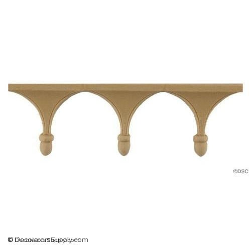 Arch - Colonial 1 3/4H - 3/8Relief-moulding-for-furniture-woodwork-Decorators Supply
