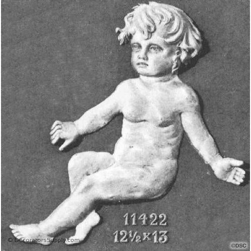 Animal-Child 13H X 12 1/2W - 1 1/2Relief-historic-carving-library-victorian-styles-Decorators Supply