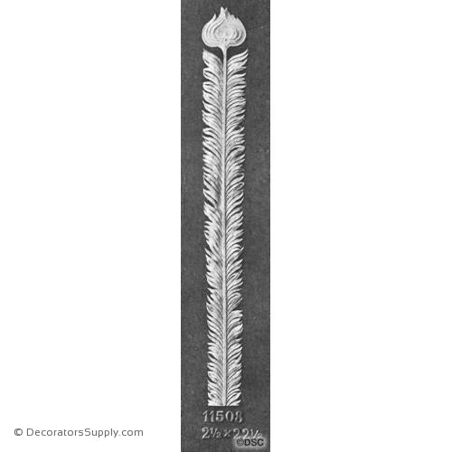 Peacock Feather - 22 1/2H X 2 1/2W-Decorators Supply