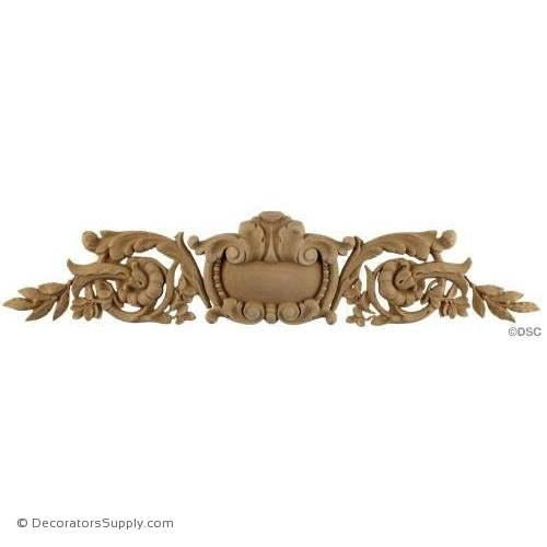 Horizontal Design-Louis XVI 4H X 18W - 3/8Relief-ornaments-for-woodwork-furniture-Decorators Supply