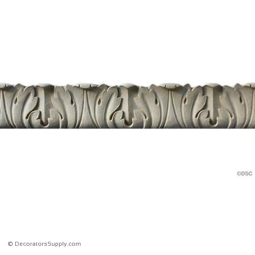 Acanthus Leaf - Ren. 1 3/8H - 1 3/16Relief-woodwork-furniture-lineal-ornament-Decorators Supply