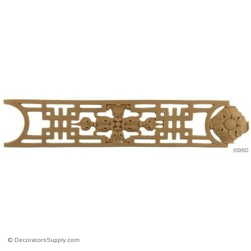 Greek Key-Ren. 2 11/16H - 1/8Relief-moulding-for-woodwork-furniture-Decorators Supply