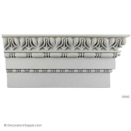 "Plaster Crown-Roman-2 3/4 Proj X 9 1/4 Drop-3"" Repeat-Decorators Supply"