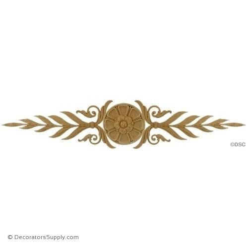 Horizontal Design 4 3/4 High 24 1/2 Wide 3/16 Relief-ornaments-for-woodwork-furniture-Decorators Supply