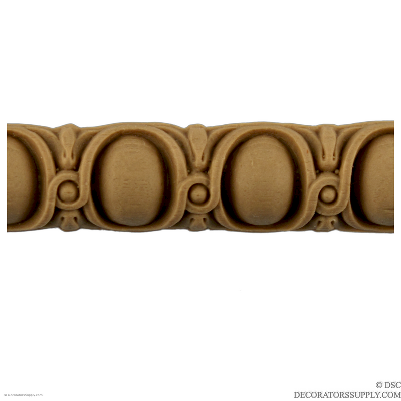 Egg and Dart 7/8 High-woodwork-furniture moulding-Decorators Supply