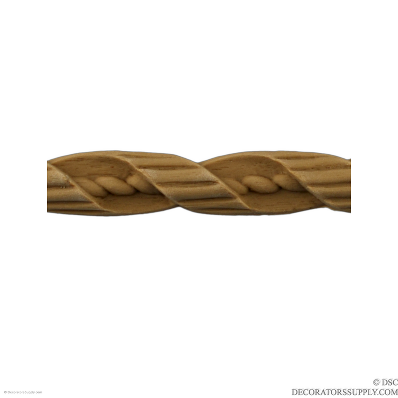 Rope 5/8 High-moulding-for-woodwork-furniture-Decorators Supply