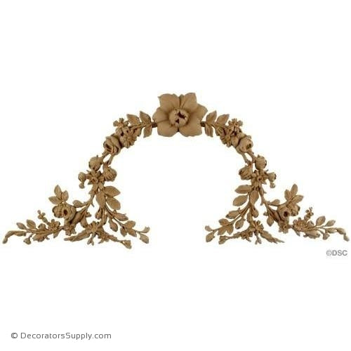 Wreath-ornaments-for-woodwork-furniture-Decorators Supply