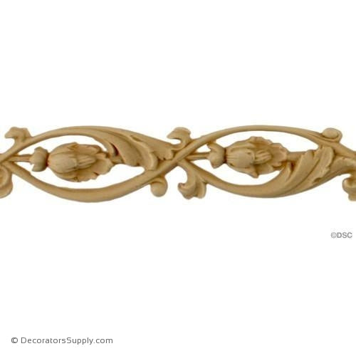 "Running Vine & Leaf - 1"" H - Each Cast 18""-ornaments-furniture-woodwork-Decorators Supply"