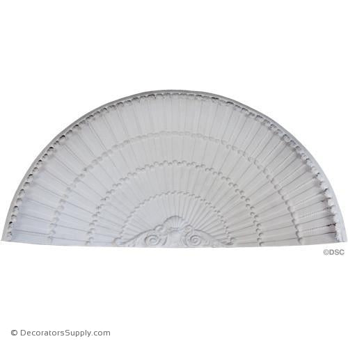 "Plaster Shell-31 3/8"" Wide X 14 3/4"" High X 6 3/4"" Deep-niche-shell-Decorators Supply"