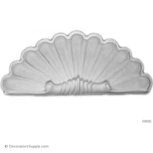 "Plaster Shell-20"" Wide X 8 1/2"" High X 2 1/2"" Deep-niche-shell-Decorators Supply"