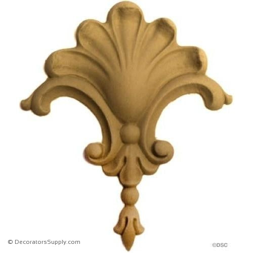 Shell Accent-ornaments-for-woodwork-furniture-Decorators Supply