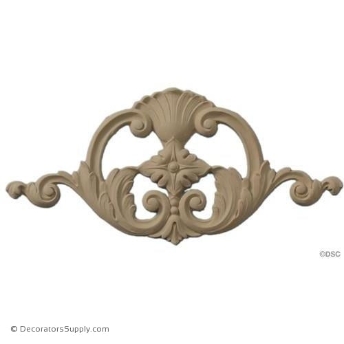 Cartouche Accent-appliques-for-woodwork-furniture-Decorators Supply