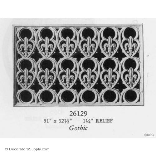 Plaster Medallion Or Vented Grille