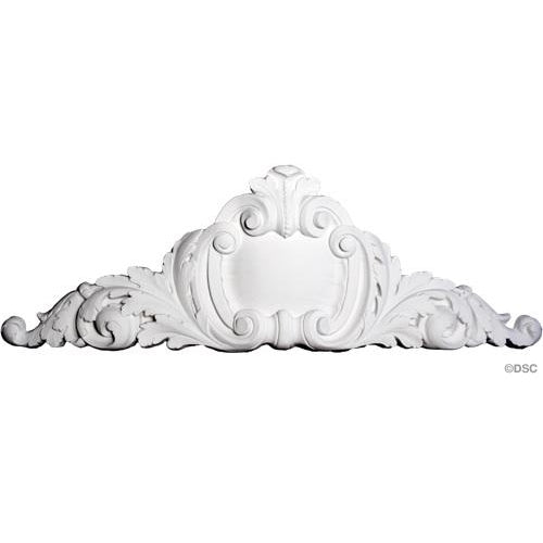 "Cartouche French 62"" W X 22"" H X 4-1/4"" Relief"