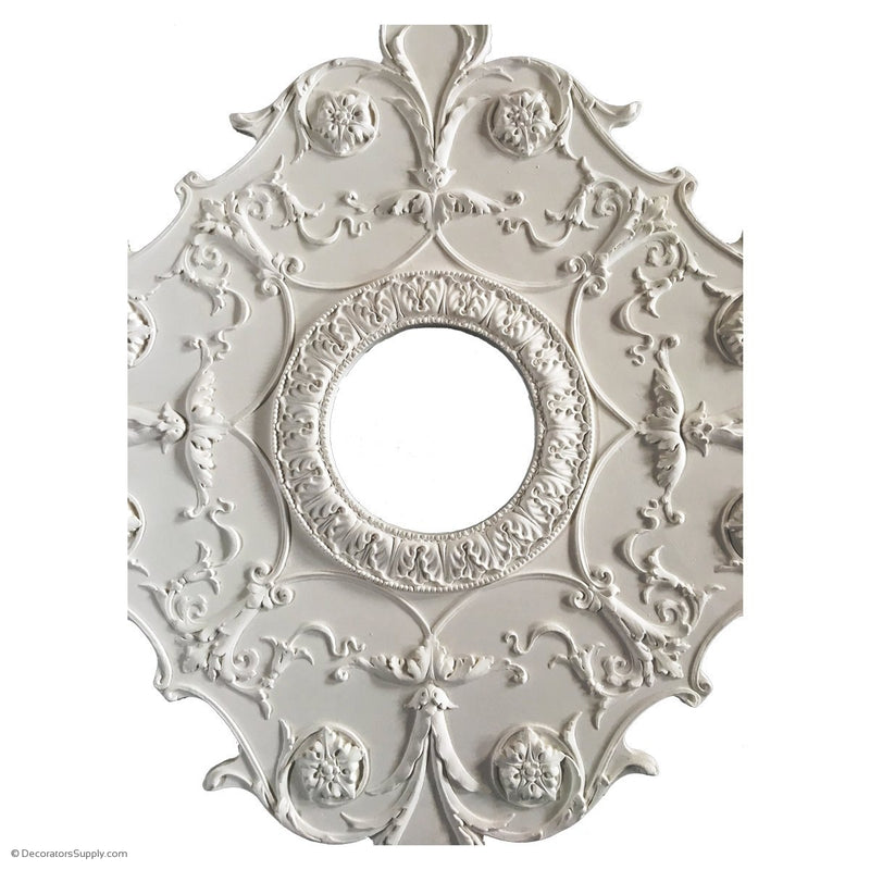 how to install large ceiling medallions   Large Ceiling Medallions For Chandeliers and Ceiling Fans ...