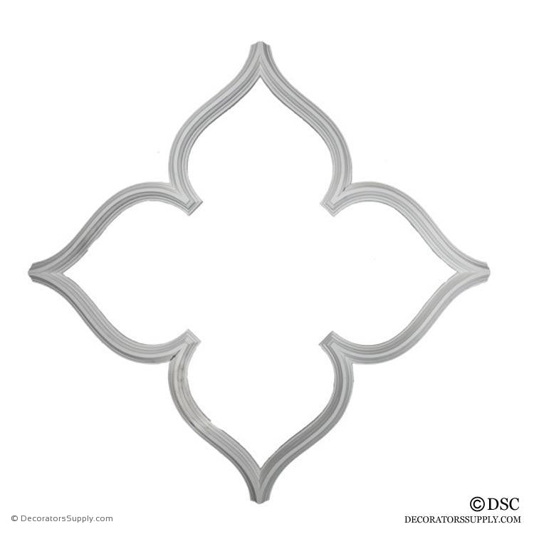 Open Gothic Tracery - Offered in 2-Sizes-geometric-ceiling-designs-Decorators Supply