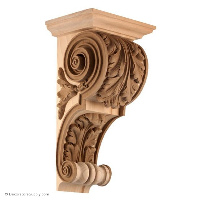 Stain Grade Corbel - French Louis XVI-A