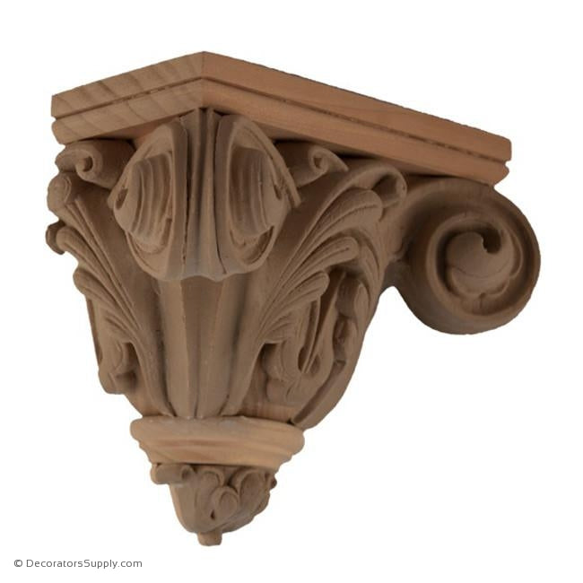 Stain Grade Corbel - Gothic Style