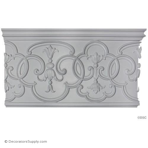 Plaster Frieze Chinese Oriental - 2 SIZES