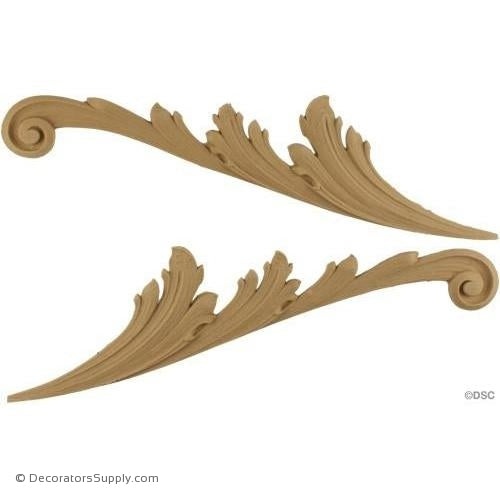 Horizontal Design - 13 in. width-ornaments-furniture-woodwork-Decorators Supply