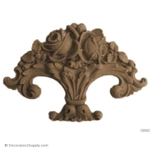 Floral-ornaments-for-furniture-woodwork-Decorators Supply
