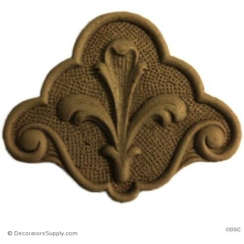 Fleur de Lis 3 High 3 3/4 Wide - Decorators Supply