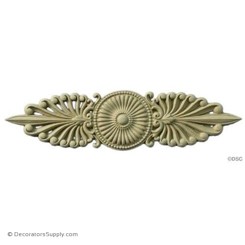 Horizontal Design-Empire 11 1/4H X 2 7/8W-5/16Relief-ornaments-for-woodwork-furniture-Decorators Supply