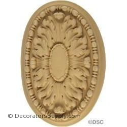 Rosette Oval - French