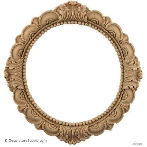 Acanthus Ring-woodwork-furniture-ornaments-Decorators Supply