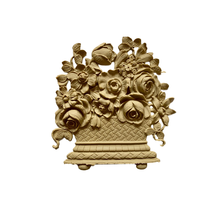 Basket-Louis XVI 8H X 7  1/2W - 7/16Relief