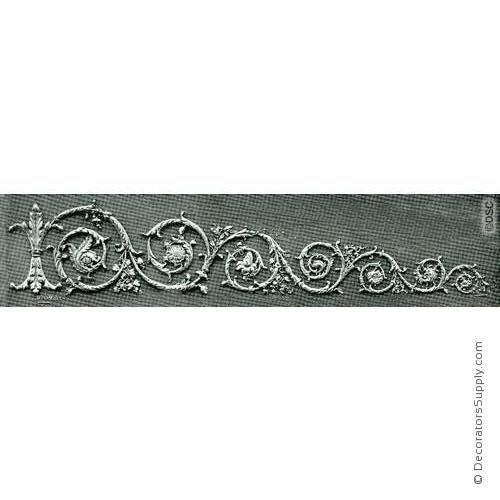 Scroll Design-Mod. Ren. 176 W X 14 1/4 H - 5/8Relief-ornaments-for-woodwork-furniture-Decorators Supply