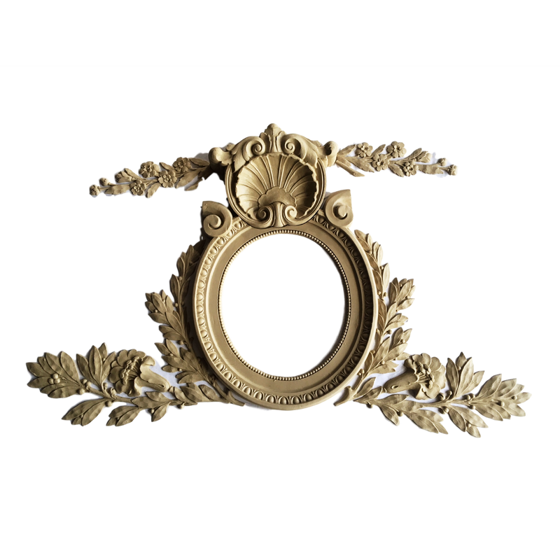 Specialty-Louis XVI 19H X 33W - 3/4Relief