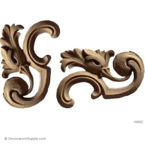 Scrolls-ornaments-for-furniture-wooodwork-Decorators Supply