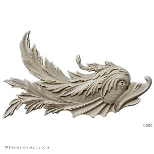 Animal - Fish - Classic 8 1/2H X 13W - 3/4Relief-Decorators Supply