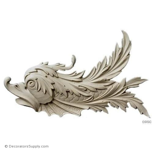 Animal- Fish - Classic 8 1/2H X 13W - 3/4Relief-Decorators Supply