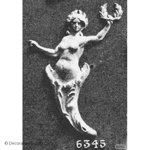 Woman with Torch-Louis XVI 10  3/4H X 7  5/8W - 5/8Relief