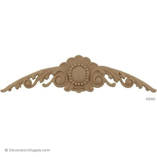 Cartouche 4 High 15 3/4 Wide-appliques-for-woodwork-furniture-Decorators Supply