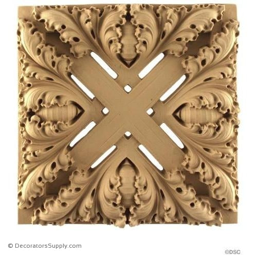Specialty-Gothic 8H X 8W - 1Relief-ornaments-for-woodwork-furniture-Decorators Supply
