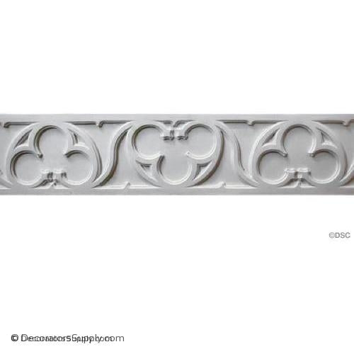 "Gothic Frieze - Gothic 8 1/2H - 3/8Relief 24 1/8"" Repeat-moulding-for-furniture-woodwork-Decorators Supply"