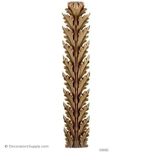 Acanthus-Empire 13 3/4H X 2 5/8W - 7/8-1/4Relief-ornaments-furniture-woodwork-Decorators Supply