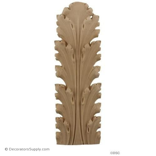 Acanthus 8 3/4 High 3 Wide-ornaments-furniture-woodwork-Decorators Supply