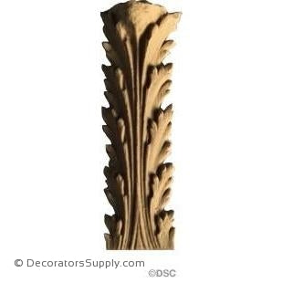 Acanthus-Empire 2 1/2H X 7/8W - 5/16-1/8Relief-ornaments-furniture-woodwork-Decorators Supply
