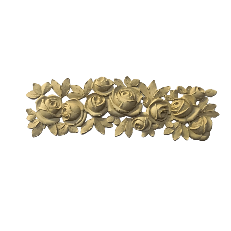 Floral-French 8H X 25  1/2W - 9/16Relief