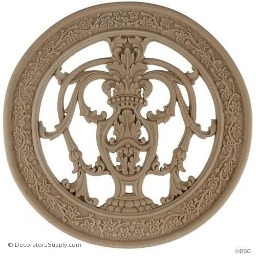 Specialty Grille - 8 3/4 Diameter-woodwork-furniture-ornaments-Decorators Supply