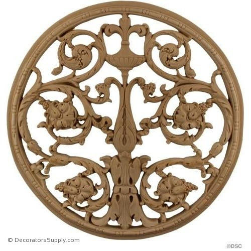 Specialty Grille 13 Diameter-woodwork-furniture-ornaments-Decorators Supply