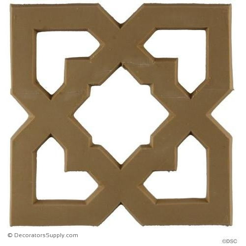 Specialty-Moorish 5H X 5W - 3/16Relief-ornaments-for-woodwork-furniture-Decorators Supply