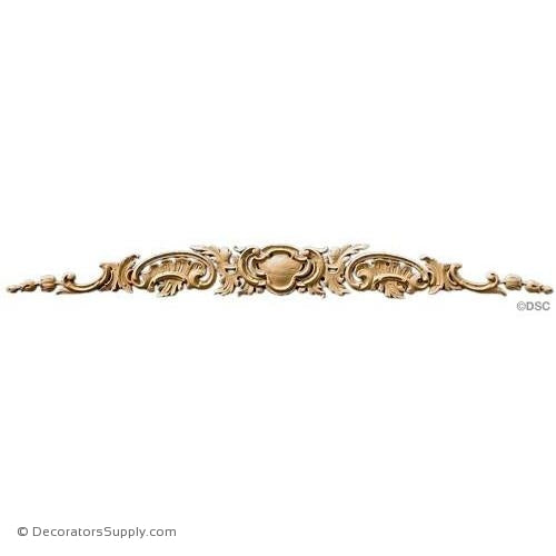 Horizontal Design - Louis XV 3 3/4H X 36 3/4W - 3/8Relief-ornaments-for-woodwork-furniture-Decorators Supply