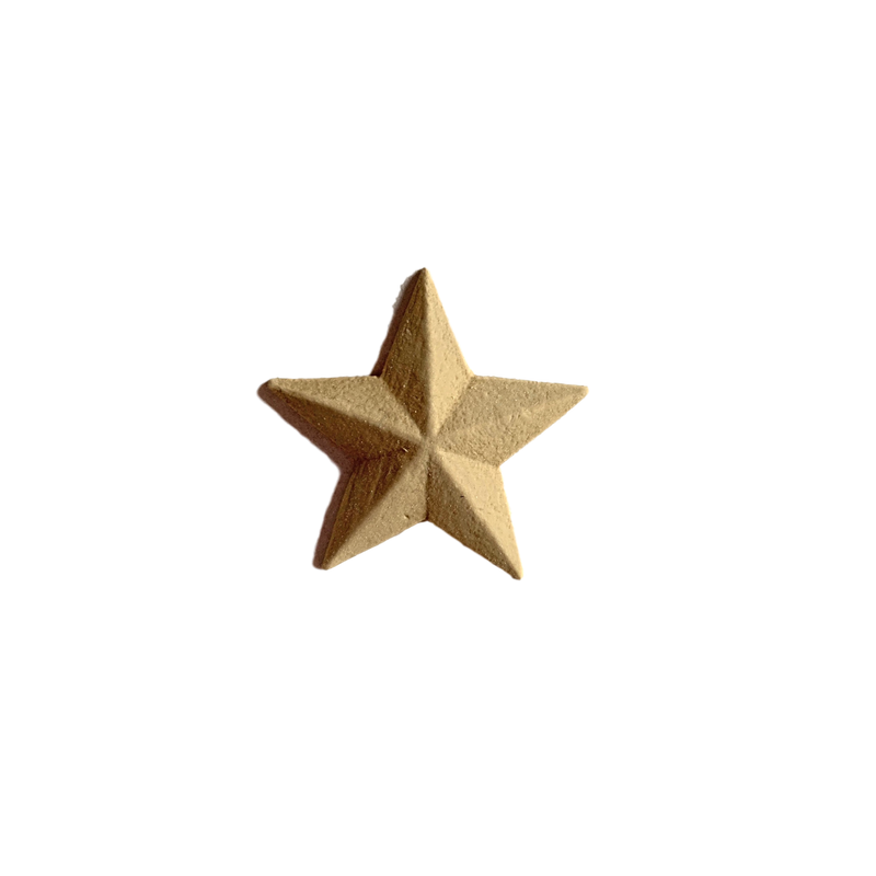 "Star - Offered in 10 Sizes From 1/2"" to 6"""