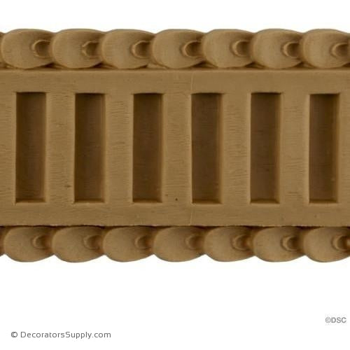 Fluted-French 3H - 3/16Relief-moulding-for-furniture-woodwork-Decorators Supply
